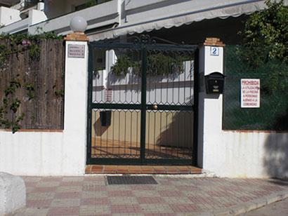 Puerta de entrada de seguridad
